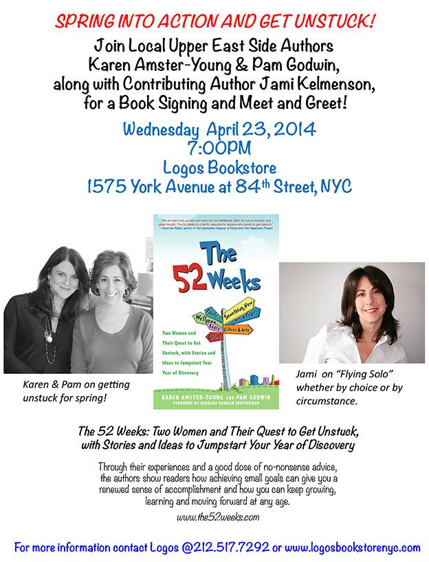 Logos Book Signing Event for The 52 Weeks