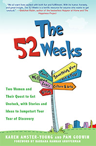 The 52 Weeks Book by Karen Amster-Young and Pam Godwin